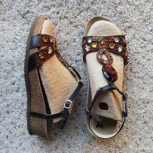 MEPHISTO 39 Brown sandals